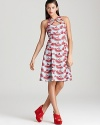 From the vibrant print to the summer-ready silhouette, this Nanette Lepore dress is a must-have for warm-weather chic.